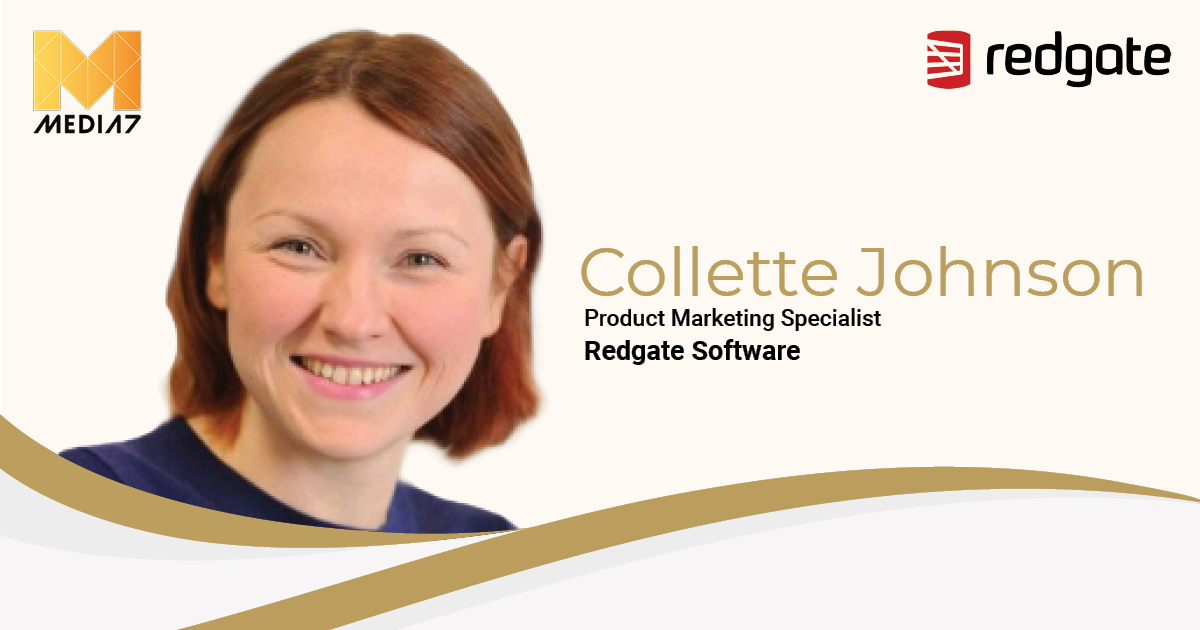 Q&A with Collette Johnson, Product Marketing Specialist at Redgate Software