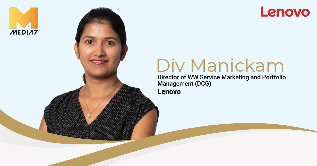 Q&A with Div Manickam, Director of WW Services Marketing and Portfolio Management (Data Center Group) at Lenovo