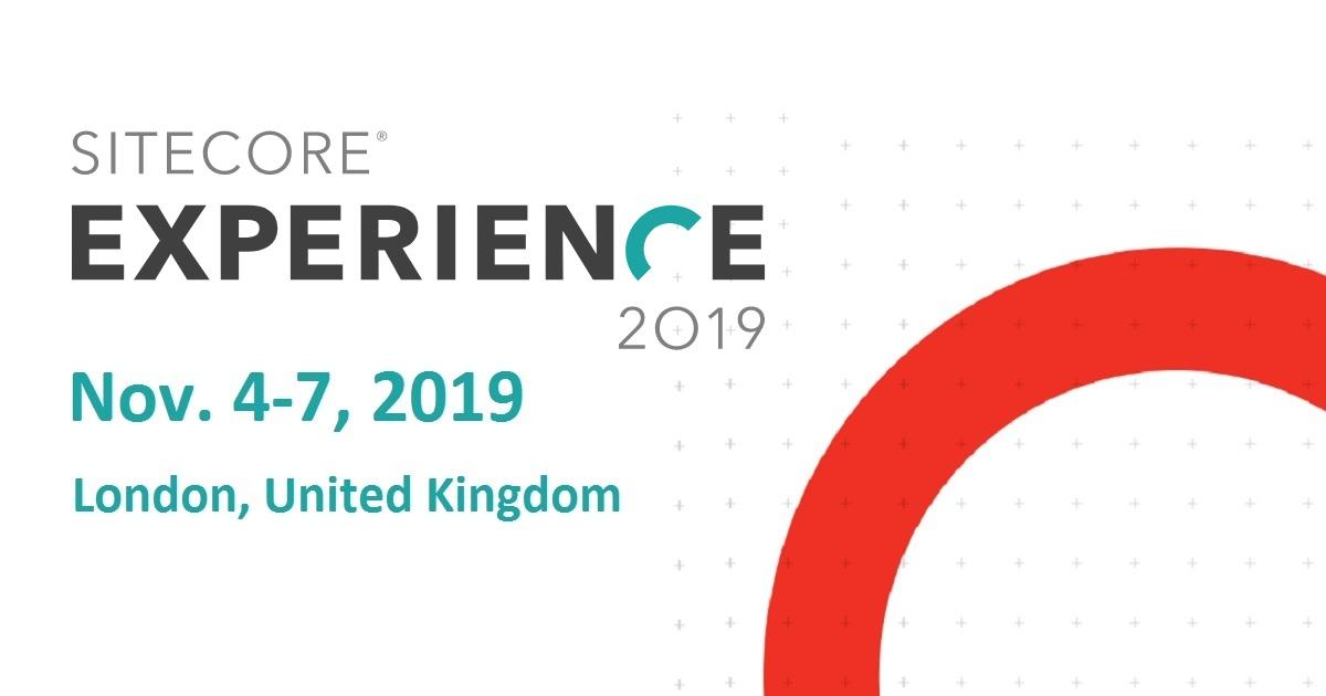 Sitecore experience 2019