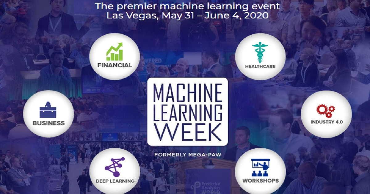The premier machine learning event