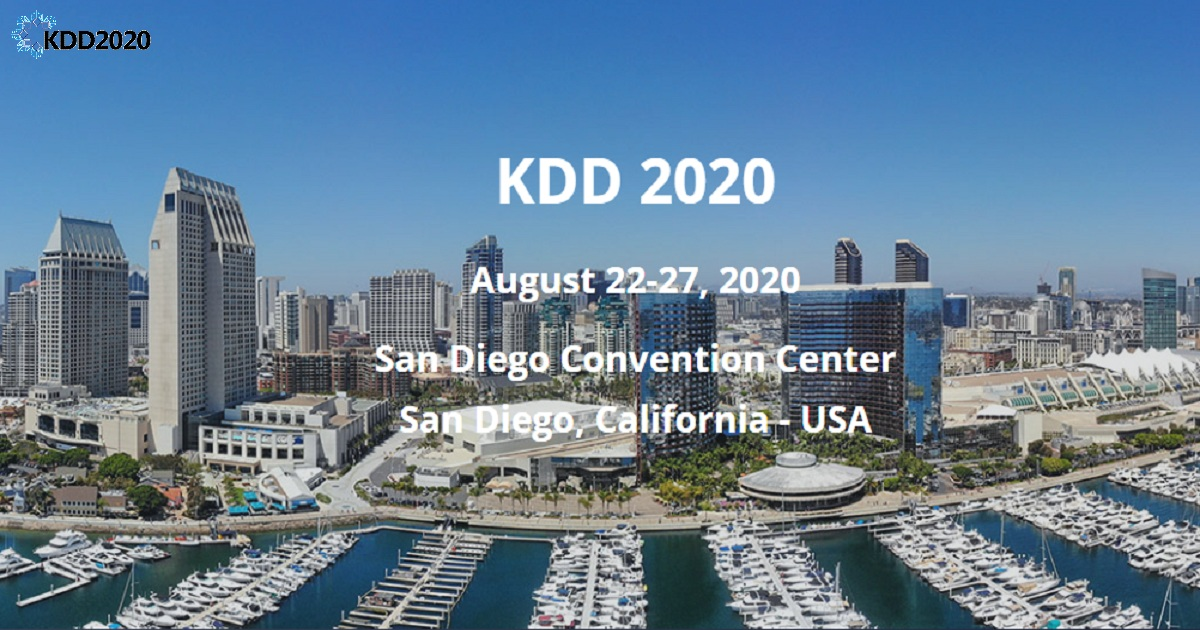 26TH ACM SIGKDD CONFERENCE ON KNOWLEDGE DISCOVERY AND DATA MINING