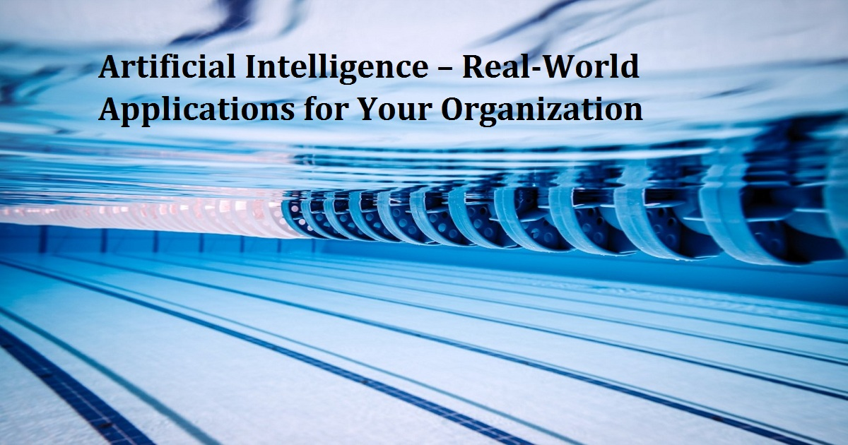 DAS Webinar: Artificial Intelligence – Real-World Applications for Your Organization