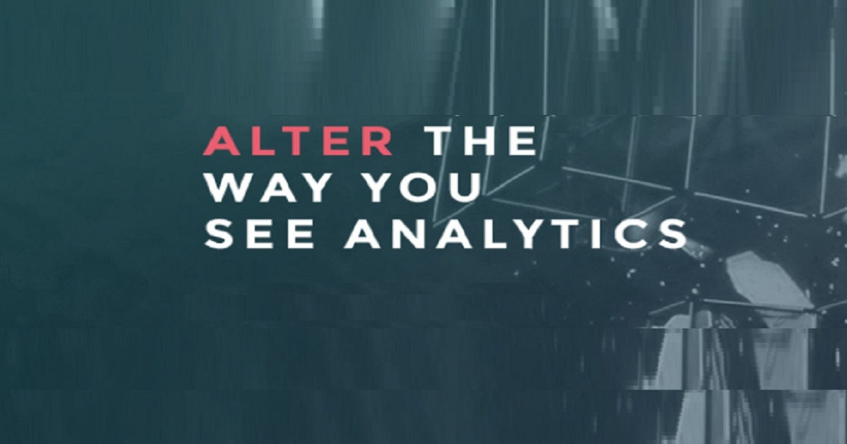 ALTER THE WAY YOU SEE ANALYTICS