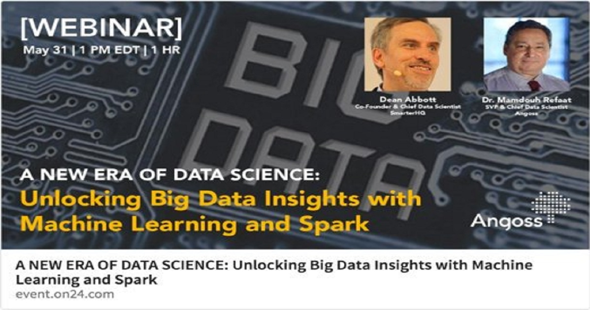 A NEW ERA OF DATA SCIENCE: Unlocking Big Data Insights with Machine Learning and Spark