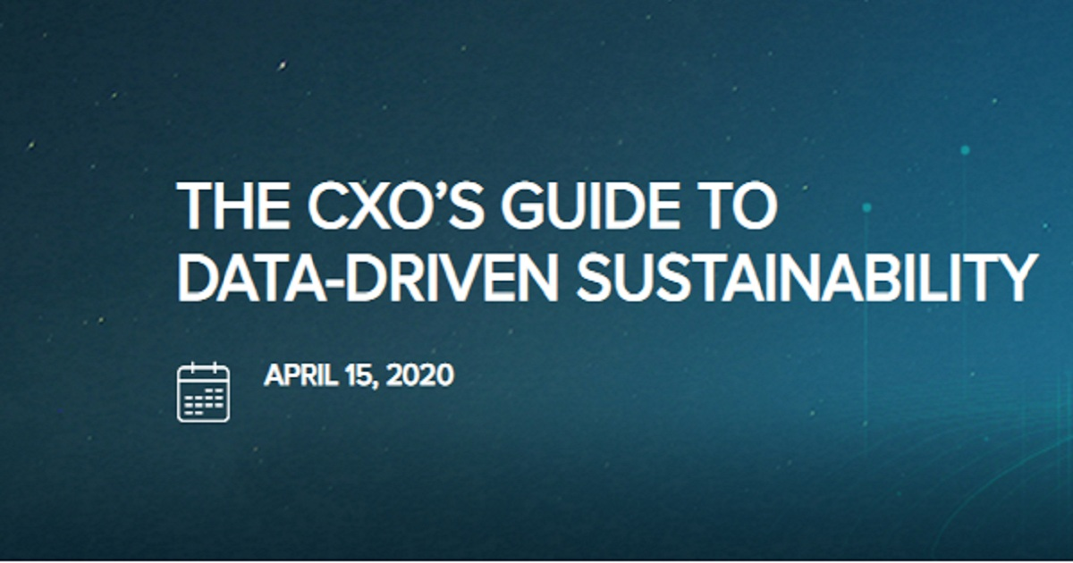 The CXO Guide to Data-Driven Sustainability