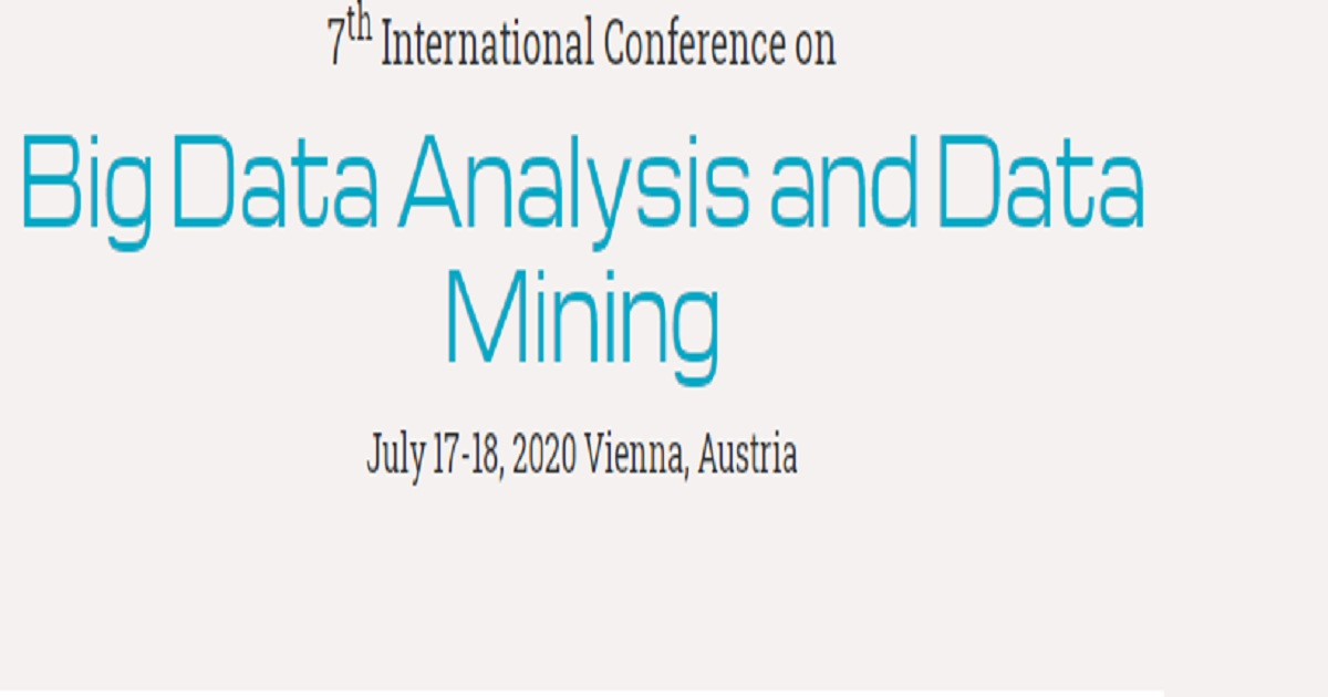 7th International Conference on Big Data Analysis and Data Mining