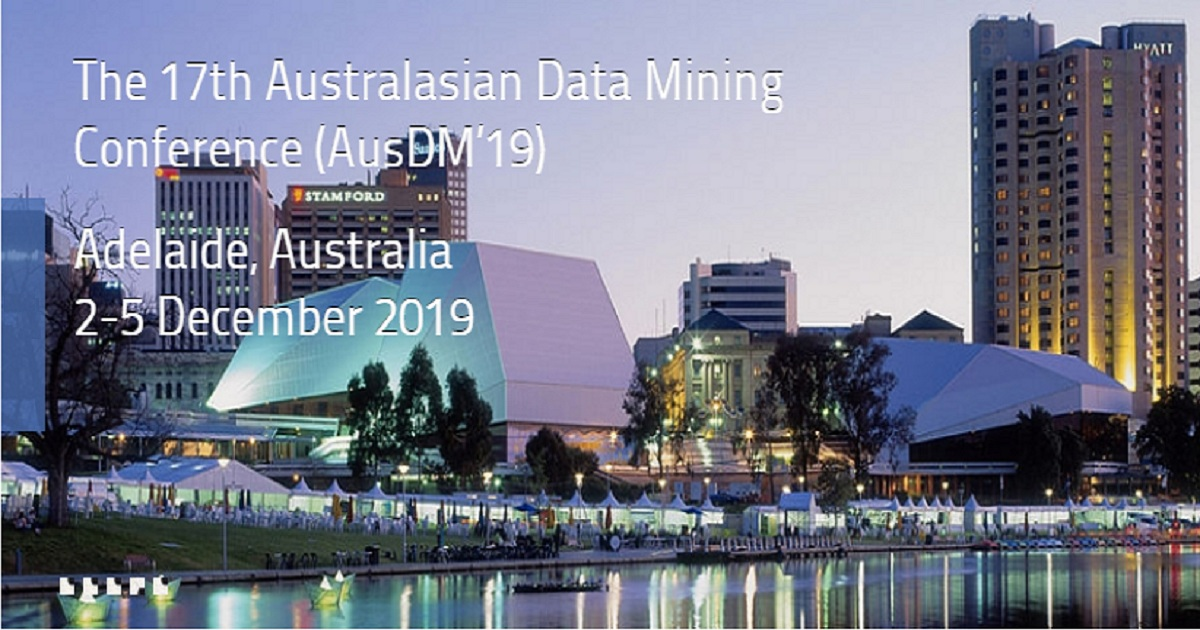 The 17th Australasian Data Mining Conference