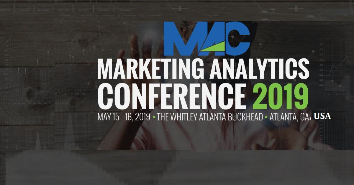 Marketing Analytics Conference 2019