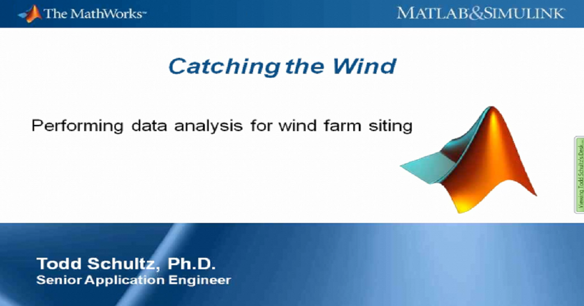 Wind Resource Assessment - Data Analysis Using MATLAB
