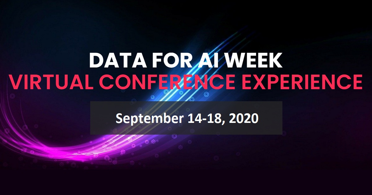 Data for AI Week Virtual Conference Experience