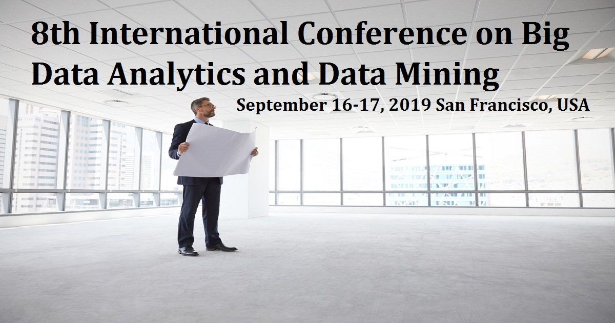 8th International Conference on Big Data Analytics and Data Mining
