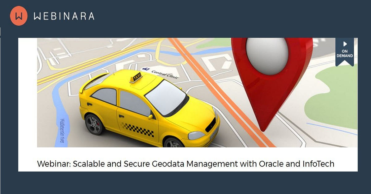Scalable and Secure Geodata Management with Oracle and InfoTech