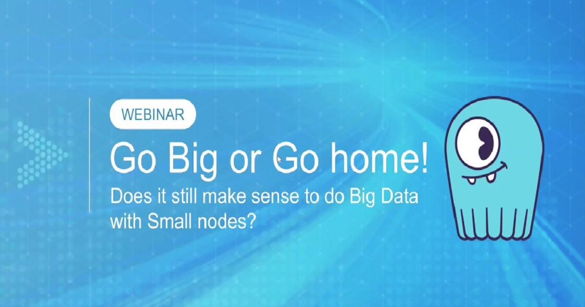 Does it Still Make Sense to do Big Data with Small Nodes?