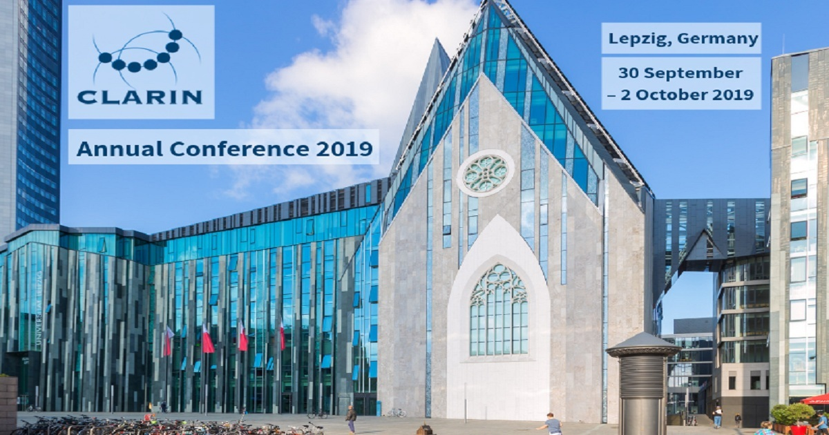 CLARIN Annual Conference 2019