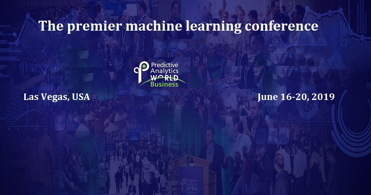 The premier machine learning conference