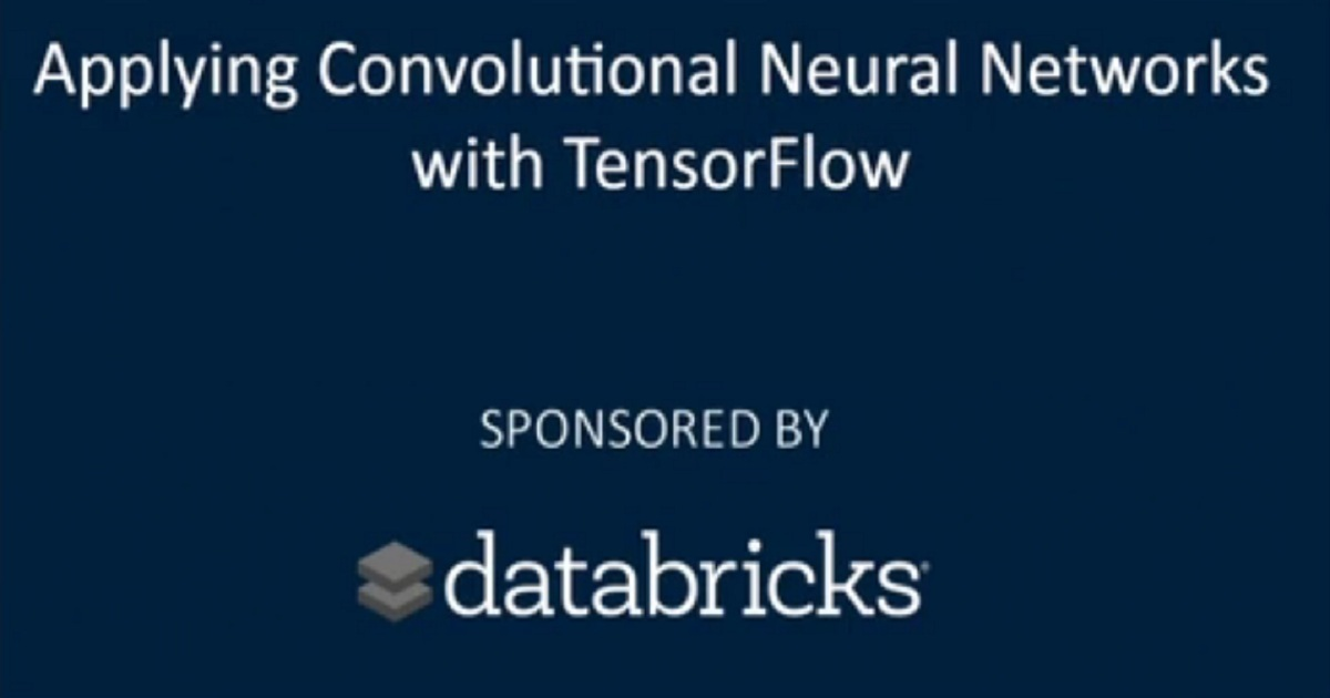 Applying Convolutional Neural Networks with TensorFlow