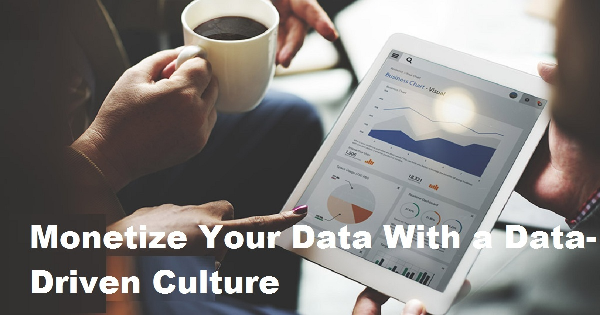 Monetize Your Data With a Data-Driven Culture