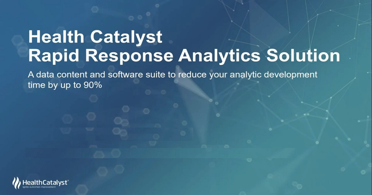 Rapid Response Analytics Accelerates Analytics ROI