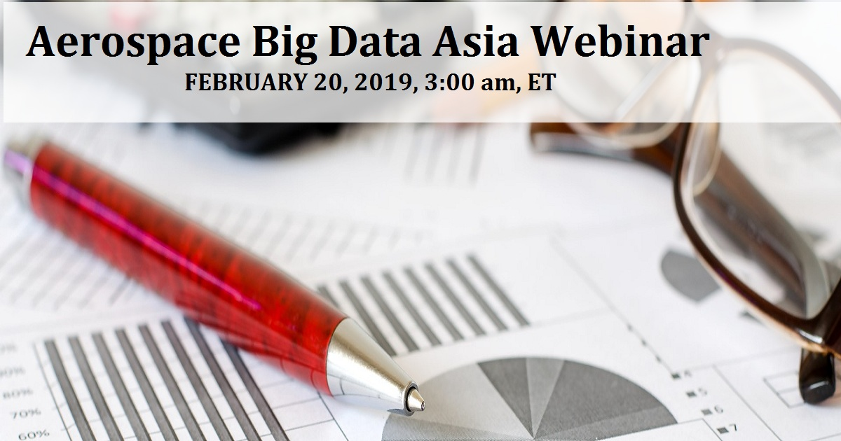 Aerospace Big Data Asia Webinar
