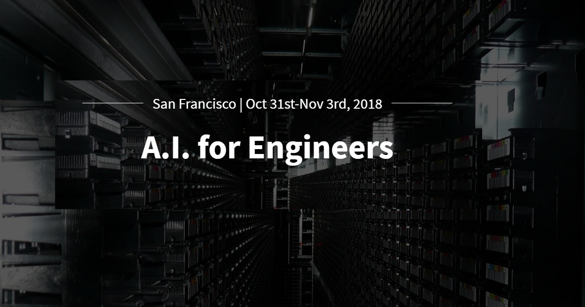 A.I. for Engineers