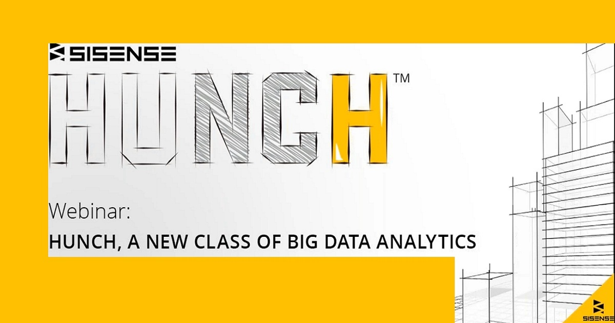 Hunch: A New Class of Big Data Analytics