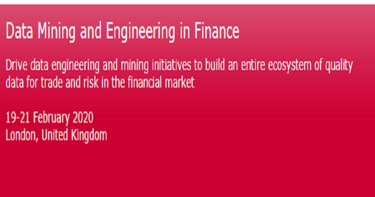 Data Mining and Engineering in Finance