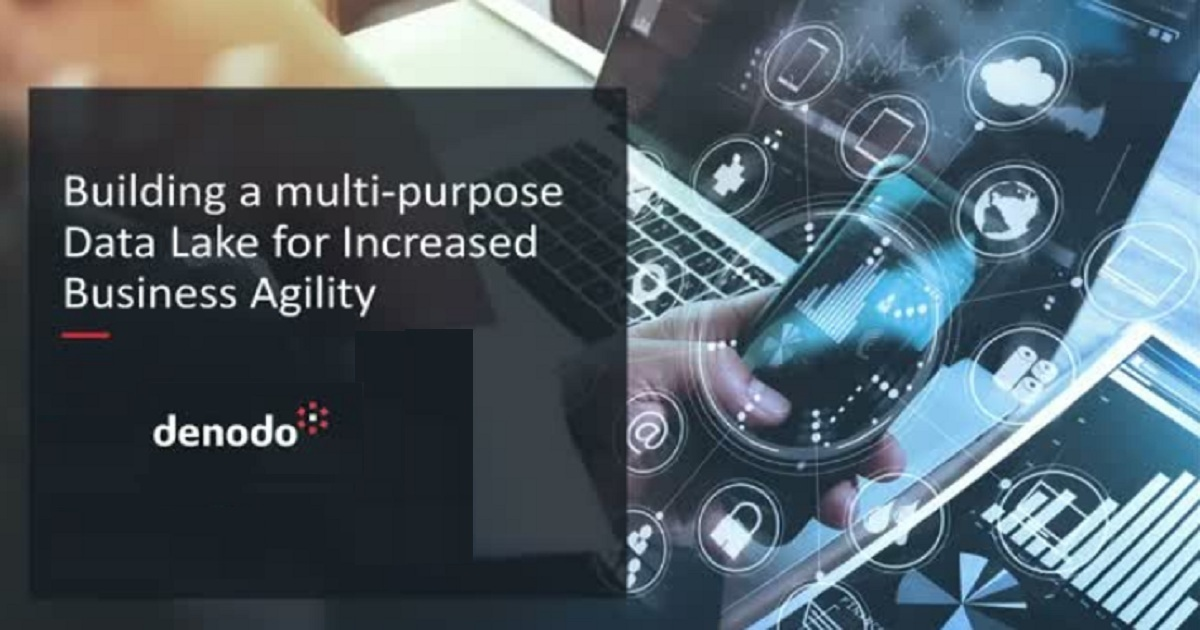 Building a multi-purpose Data Lake for Increased Business Agility