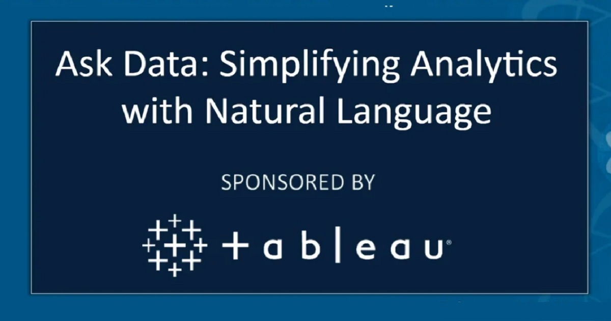 Simplifying Analytics with Natural Language