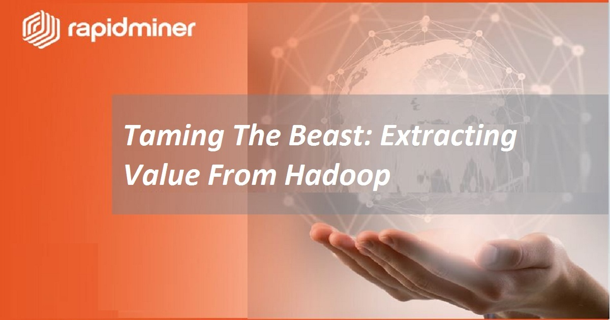 Taming The Beast: Extracting Value From Hadoop