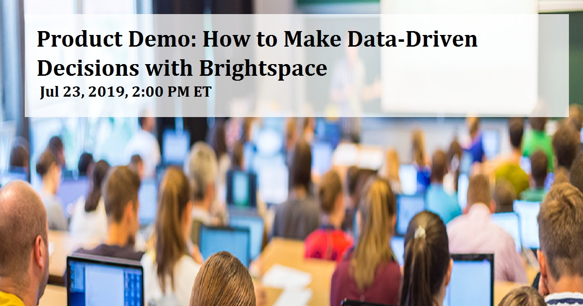 Product Demo: How to Make Data-Driven Decisions with Brightspace