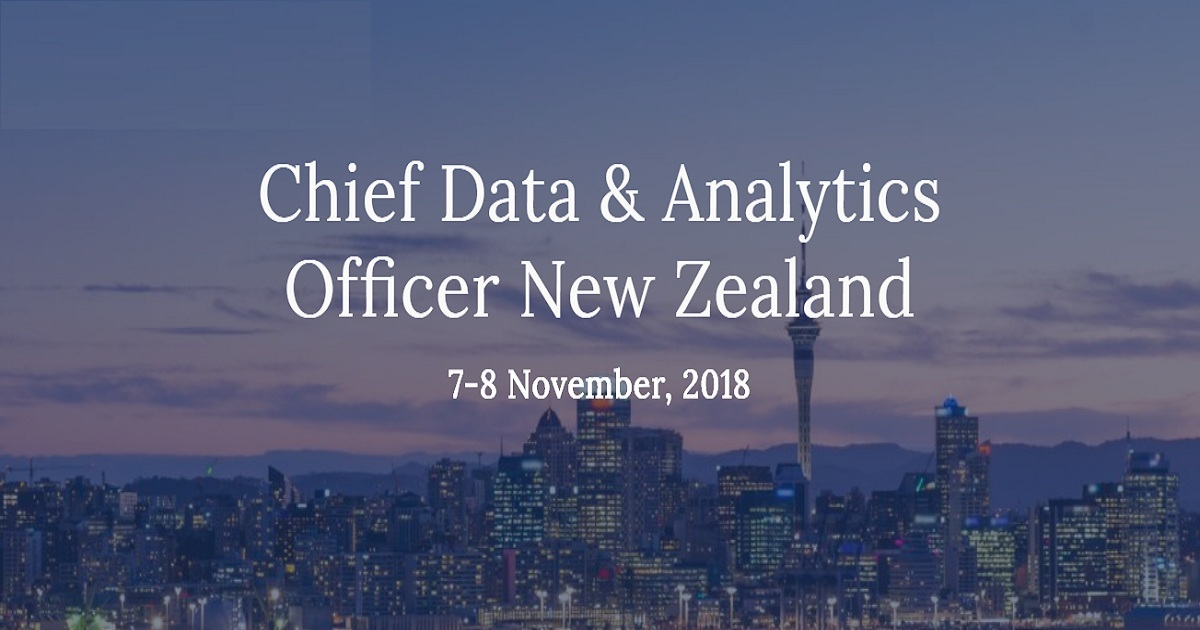 Chief Data & Analytics Officer New Zealand