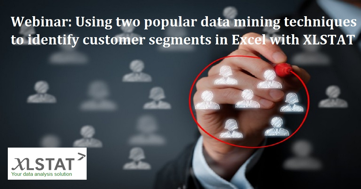 Using two popular data mining techniques to identify customer segments