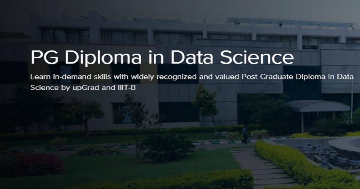 PG Diploma in Data Science