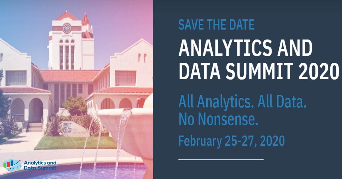 ANALYTICS AND DATA SUMMIT 2020