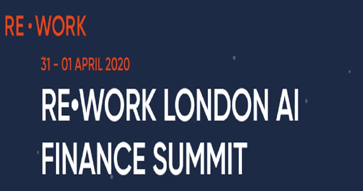 RE•WORK London AI Summit