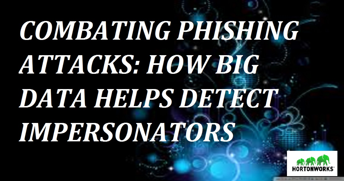 HOW BIG DATA HELPS DETECT IMPERSONATORS