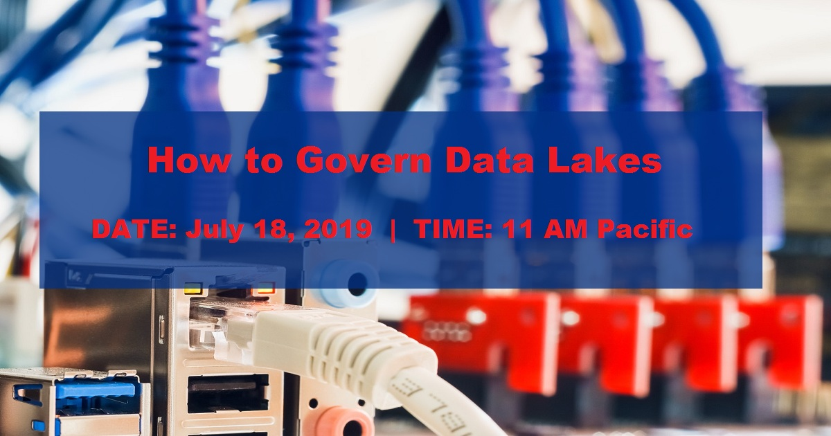 How to Govern Data Lakes