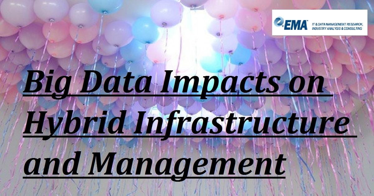 Big Data Impacts on Hybrid Infrastructure and Management