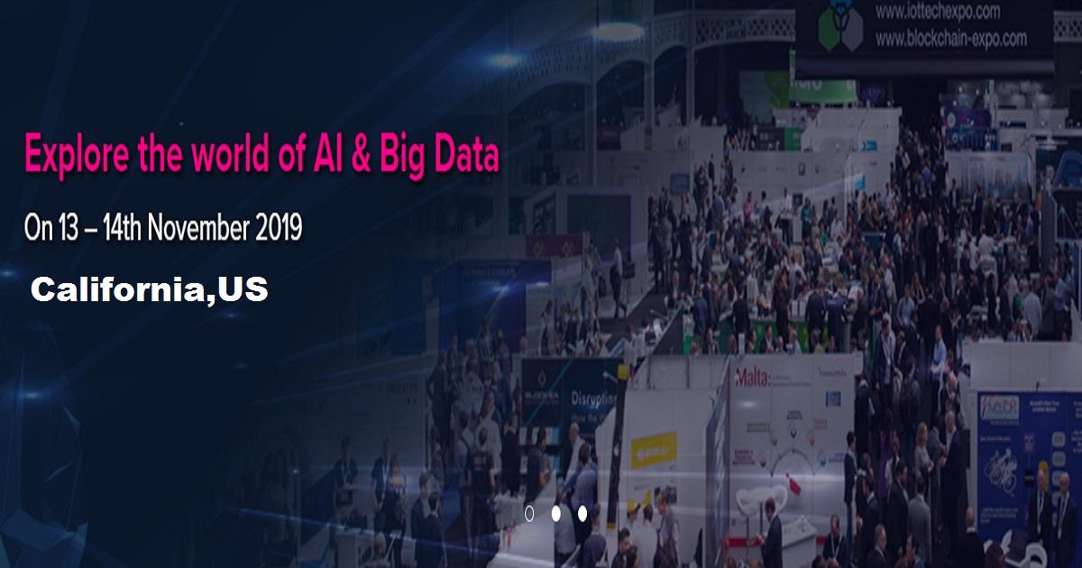 AI and Big Data Expo 2019, California