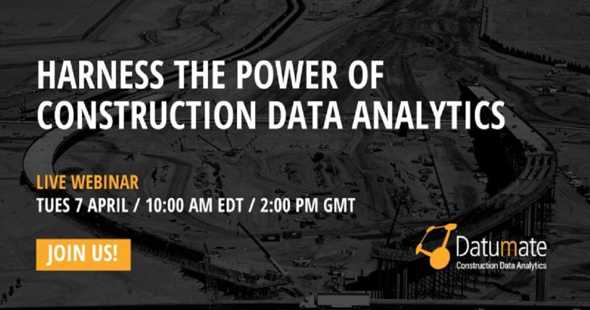 Harness the Power of Construction Data Analytics