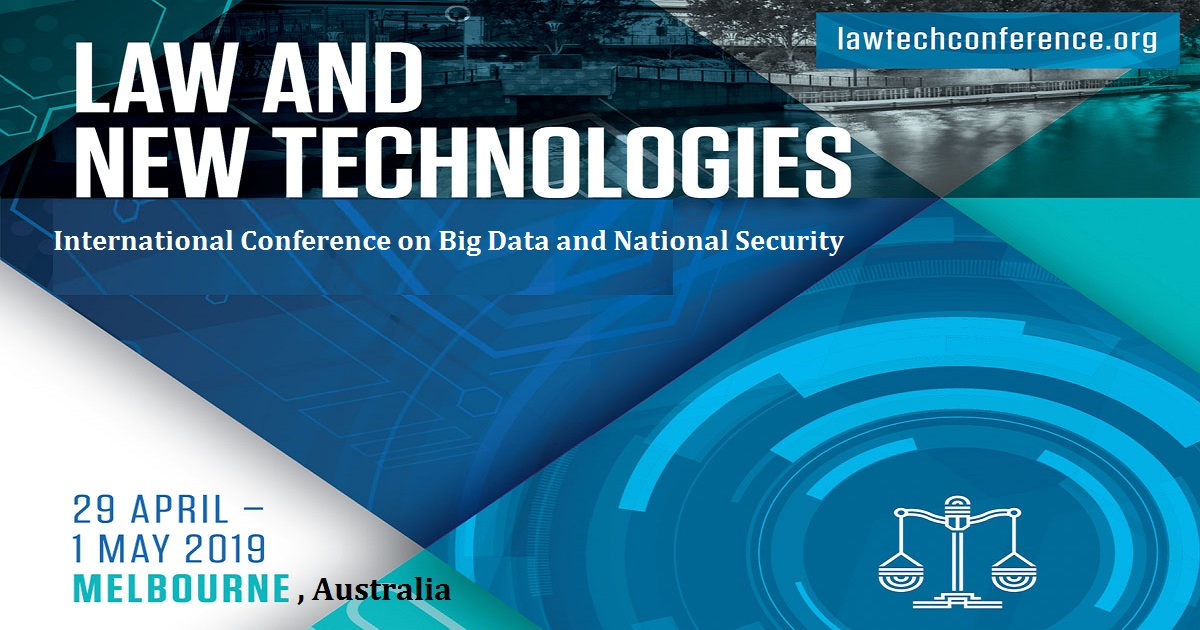 Law and New Technologies International Conference on Big Data and National Security