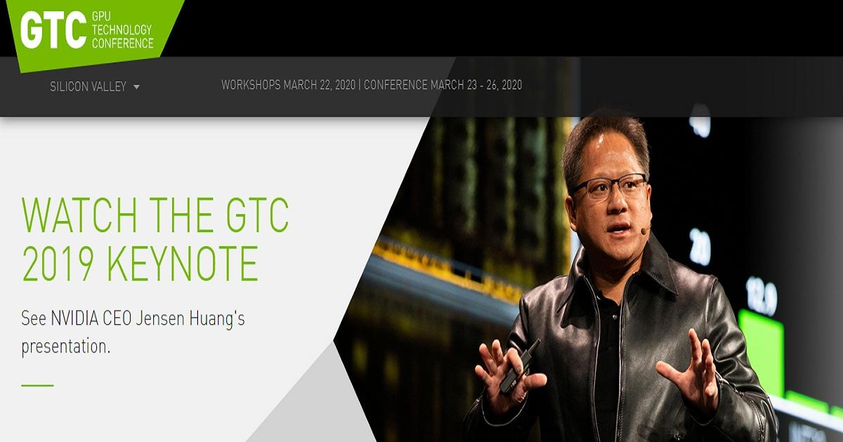 GPU Technology Conference 2019
