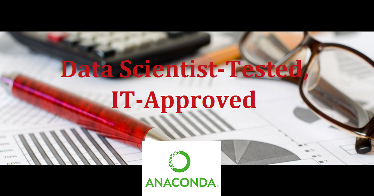 Data Scientist-Tested, IT-Approved