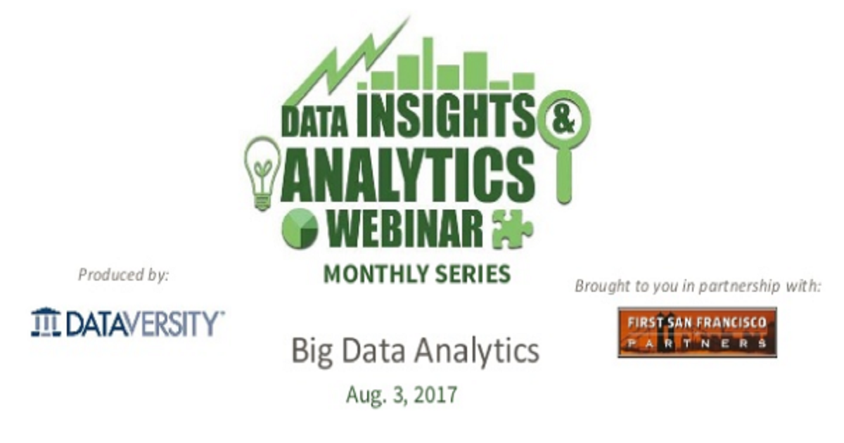 DI&A Webinar: Big Data Analytics