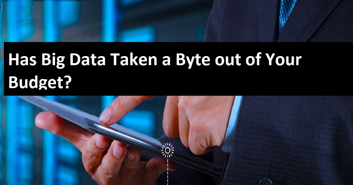 Has Big Data Taken a Byte out of Your Budget?