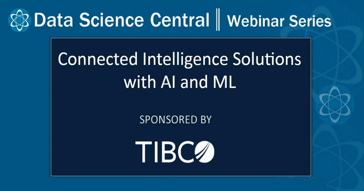 Connected Intelligence Solutions with AI and ML