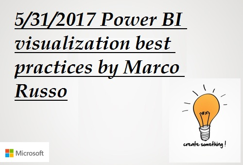 Power BI visualization best practices by Marco Russo