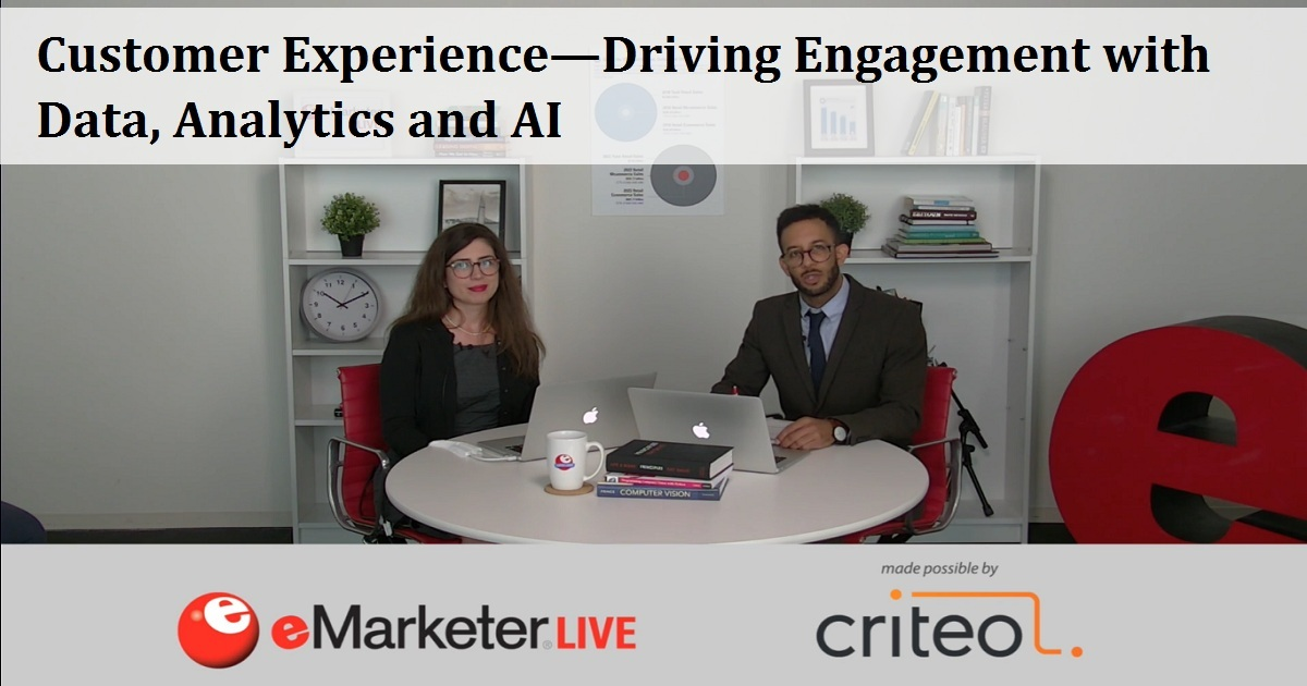 Customer Experience—Driving Engagement with Data, Analytics and AI
