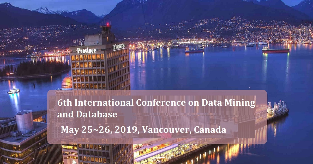 6th International Conference on Data Mining and Database