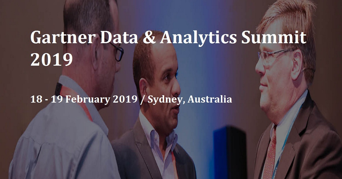 Gartner Data & Analytics Summit 2019